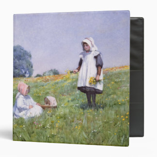 Buttercups and Daisies 3 Ring Binders