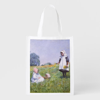 Buttercups and Daisies Grocery Bags