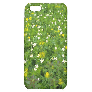 Buttercups and thimbleweed White flowers iPhone 5C Case