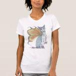 butterdog con cresta chino camisetas
