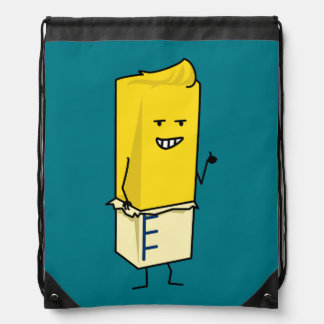 Buttered Buttery Stick of Butter Happy Thumbs Up Drawstring Bag