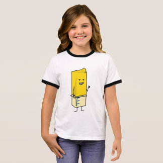 Buttered Buttery Stick of Butter Happy Thumbs Up Ringer T-Shirt