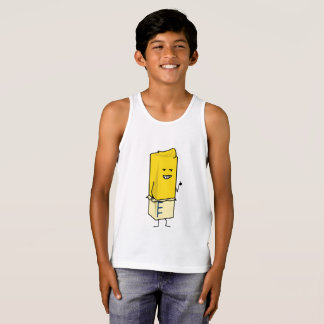Buttered Buttery Stick of Butter Happy Thumbs Up Tank Top