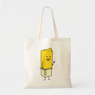 Buttered Buttery Stick of Butter Happy Thumbs Up Tote Bag