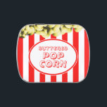 """Buttered Popcorn Movie Theme Candy Tin<br><div class=""""desc"""">These jellybean tin is perfect for a movie themed sweets buffet or snack bar!</div>"""
