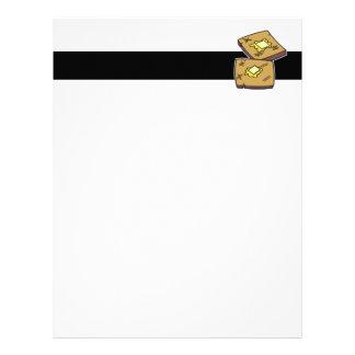 buttered toast letterhead