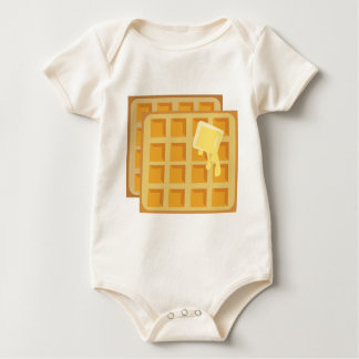 Buttered Waffles Rompers