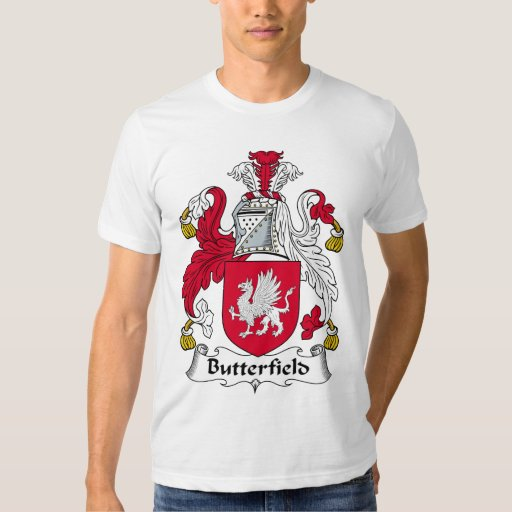 Butterfield Family Crest Shirts