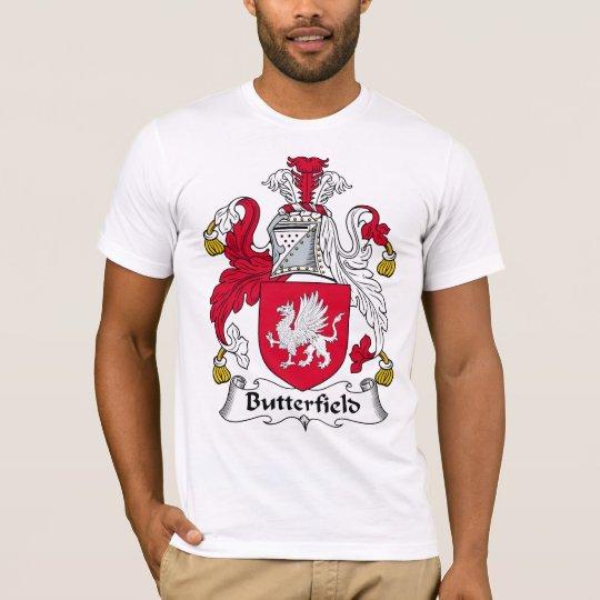 Butterfield Family Crest T-Shirt