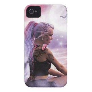Butterfies y hada Case-Mate iPhone 4 carcasa