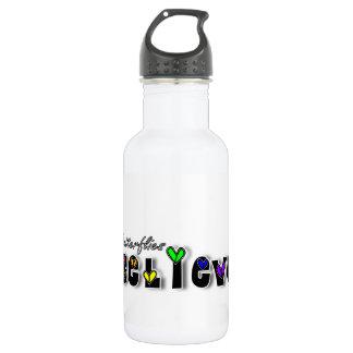 Butterfiles Believe Stainless Steel Water Bottle
