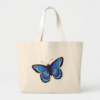 Butterfiy blue canvas bags