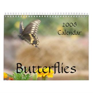 Butterflies 2008 Calendar