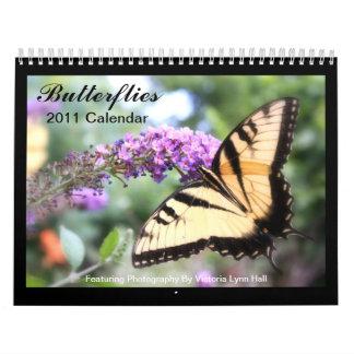 Butterflies 2011 Calendar