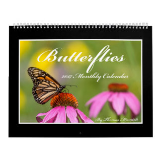 Butterflies 2017 Calendar By Thomas Minutolo
