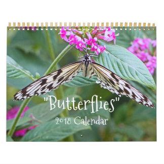 """""""BUTTERFLIES"""" 2018 CALENDAR"""
