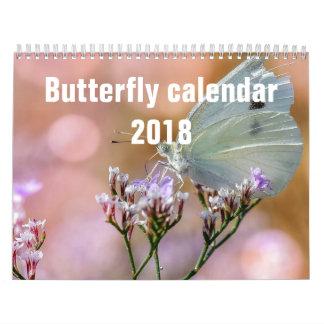 Butterflies 2018 calendar