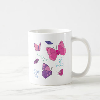 Butterflies 2 coffee mugs
