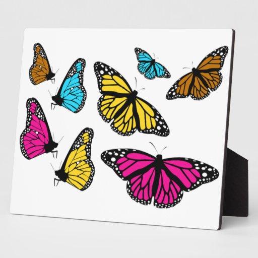 Butterflies - 2 display plaque