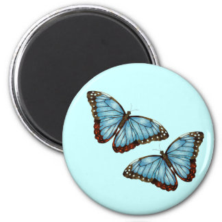 Butterflies 2 Inch Round Magnet