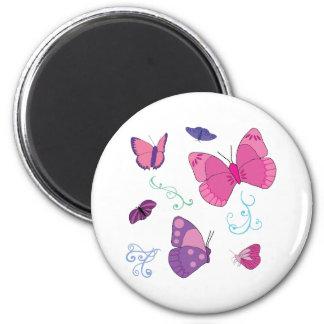 Butterflies 2 magnets