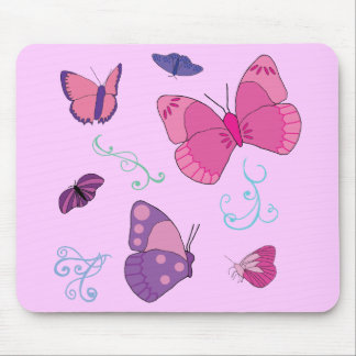 Butterflies 2 mouse pad