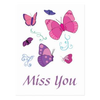 Butterflies 2 postcard