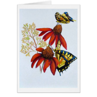 butterflies #2 stationery note card