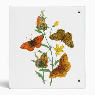 Butterflies 3 Ring Binder
