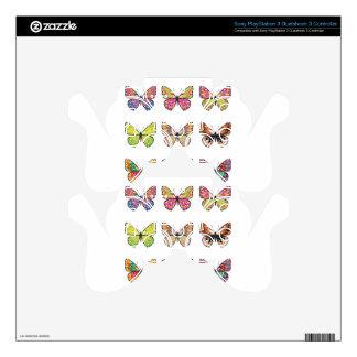 Butterflies 4 PS3 controller skin
