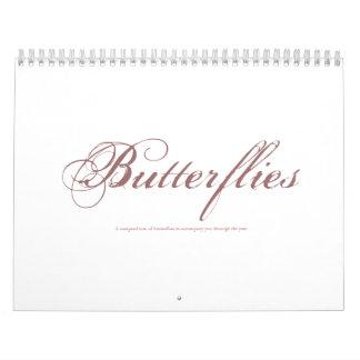Butterflies, A compendium of butterflies to acc... Calendar