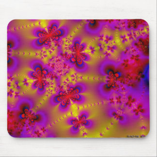 Butterflies Abstract Mouse Pad