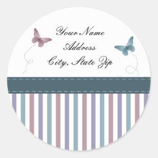 Butterflies Address Stickers