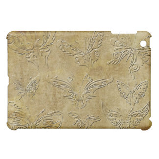 Butterflies - all unique with an embossed look iPad mini cases