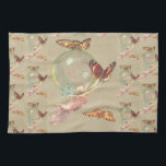 "Butterflies and a Angel Kitchen Towel<br><div class=""desc"">Butterflies and a Angel</div>"