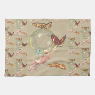 Butterflies and a Angel Kitchen Towel