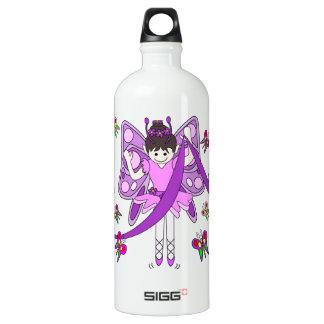 Butterflies and Ballerinas Aluminum Water Bottle