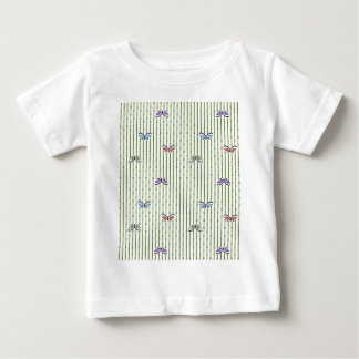 butterflies and bamboo curtain baby T-Shirt