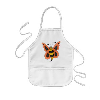 Butterflies and Bees Kids' Apron