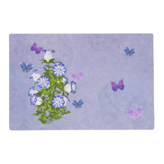 Butterflies and Bell Flowers Placemat
