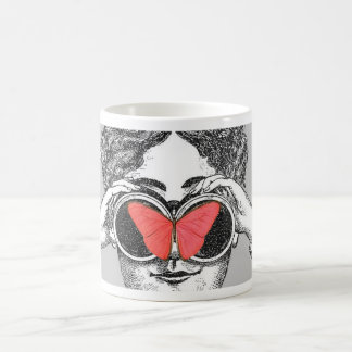 Butterflies and Binoculars Coffee Mug