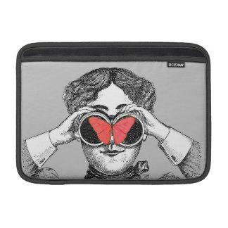 Butterflies and Binoculars MacBook Air Sleeve