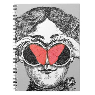 Butterflies and Binoculars Notebook