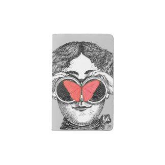 Butterflies and Binoculars Pocket Moleskine Notebook