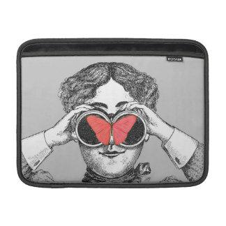 Butterflies and Binoculars Sleeve For MacBook Air