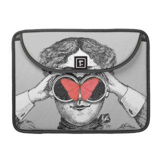 Butterflies and Binoculars Sleeve For MacBook Pro