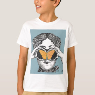 Butterflies and Binoculars T-Shirt