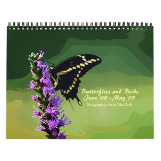 Butterflies and Birds Calendar