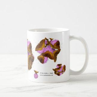 Butterflies and Blooms Coffee Mug
