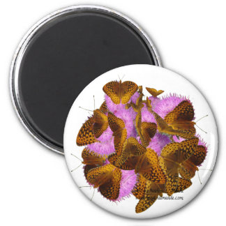 Butterflies and Blooms Magnets